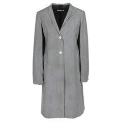 2000s Grey Overcoat