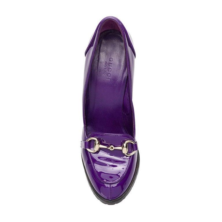 Women's 2000s Gucci Purple Pumps For Sale