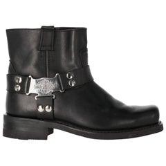 2000s Harley Davidson Black Texan Boots