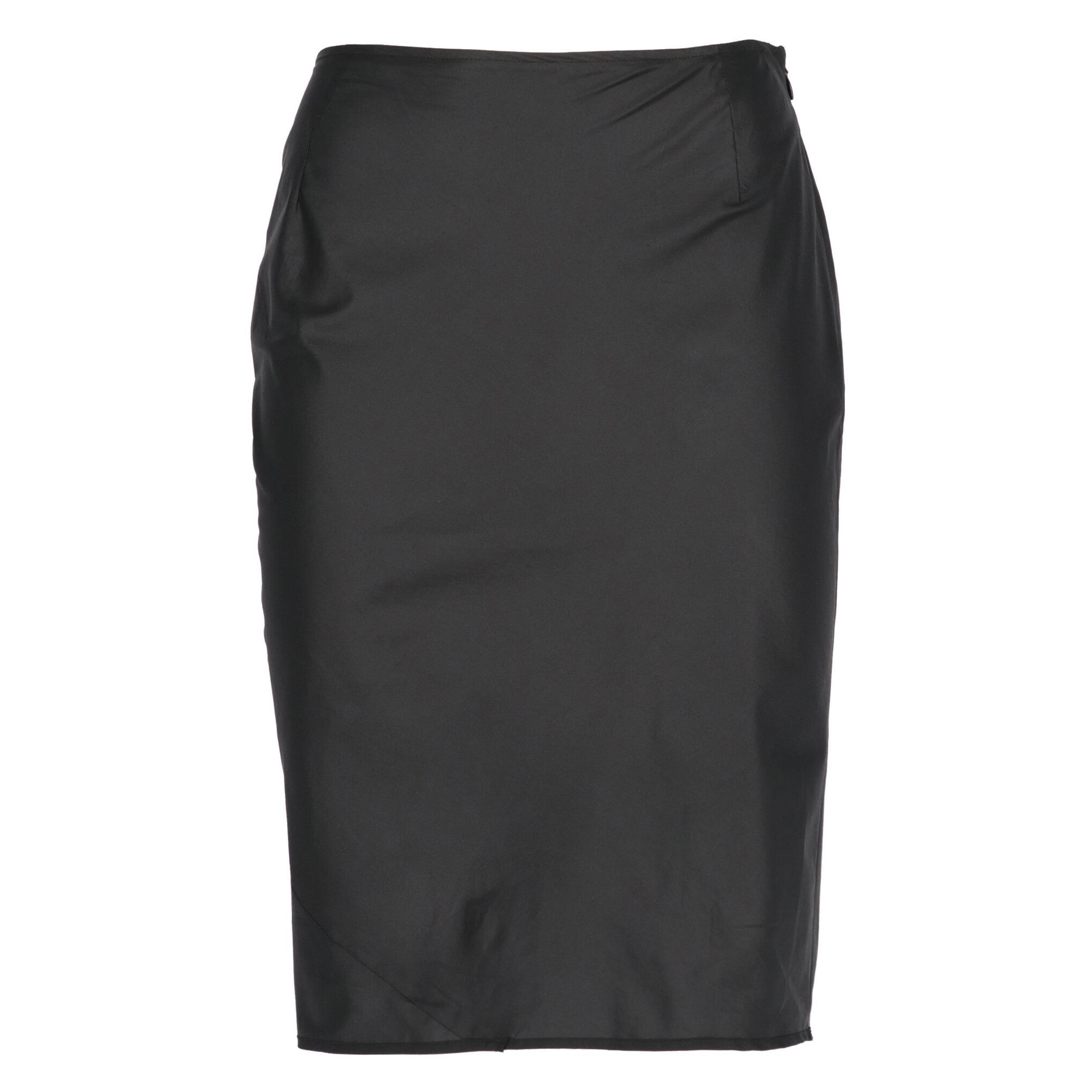 2000s Helmut Lang Black Skirt