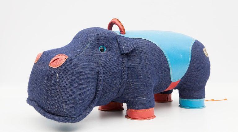 2000er Jahre, qualitativ hochwertiges Kinder Spielzeug 'Hippo' von Renate Müller 'a', Deutschland 14