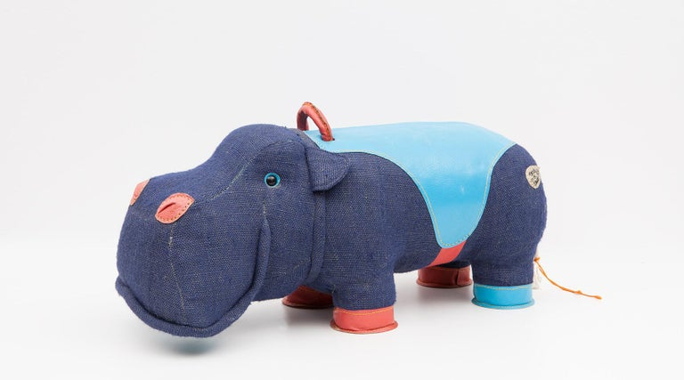 2000er Jahre, qualitativ hochwertiges Kinder Spielzeug 'Hippo' von Renate Müller 'a', Deutschland 2