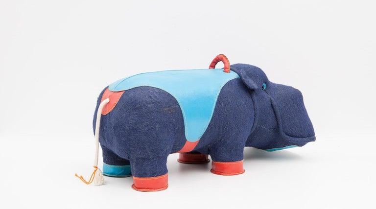 2000er Jahre, qualitativ hochwertiges Kinder Spielzeug 'Hippo' von Renate Müller 'a', Deutschland 8