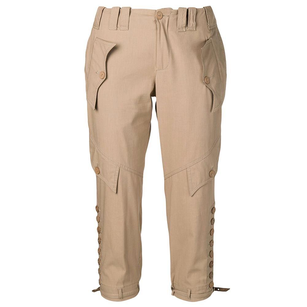 2000s Jean Paul Gaultier Crop Trousers
