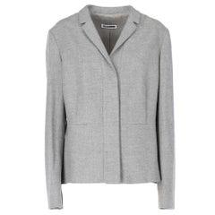 2000s Jil Sander grey wool jacket