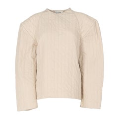 2000s Jil Sander Quilted Sweater