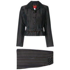 2000s Kenzo Striped Suit