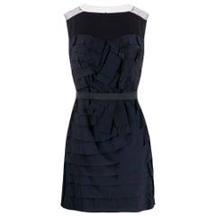 2000s Lavin Marine Blue Mini Dress