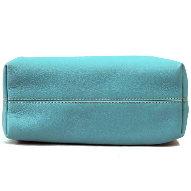 Women's 2000s Loro Piana Turquoise Purse For Sale