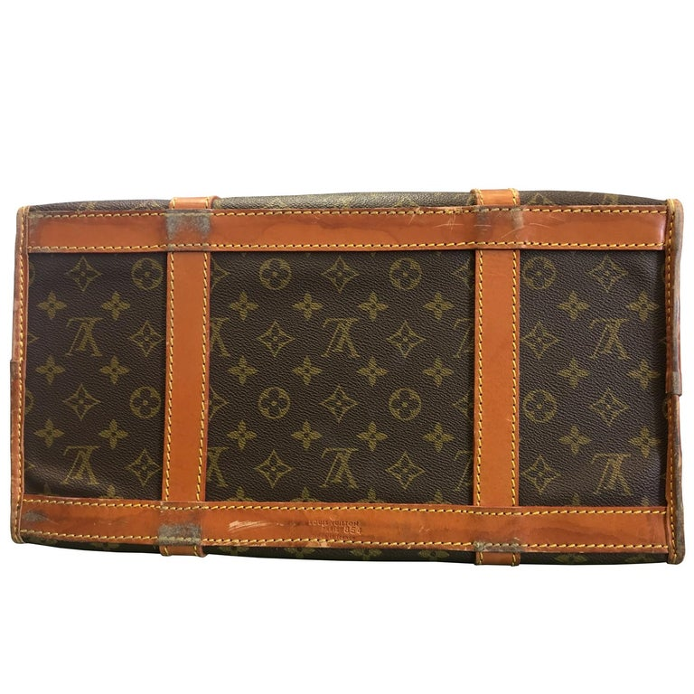 2000s Louis Vuitton Monogram Pet Carrier In Good Condition For Sale In Lugo (RA), IT