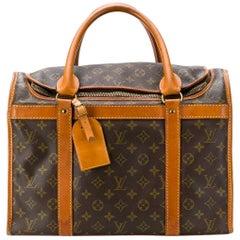 2000s Louis Vuitton Monogram Pet Carrier