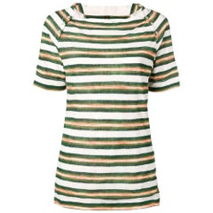 2000s Louis Vuitton Striped T-shirt