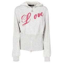 2000s Love Moschino Zipped Sweatshirt