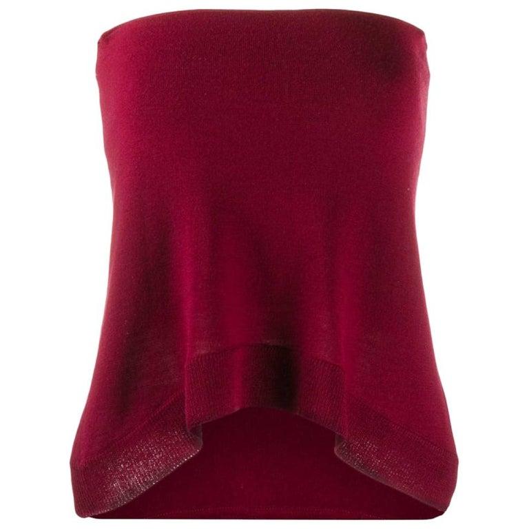 2000s Maison Martin Margiela Knit Top For Sale