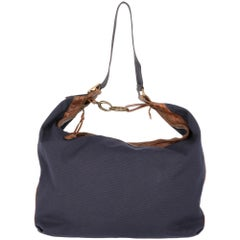 2000s Marni Blue Cotton Tote Bag