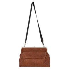 2000s Marni Leather Shoulder Bag