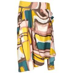 2000s Marni Print Skirt