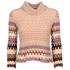 2000s Missoni Multicolor Knit Top