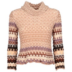 2000s Missoni Multicolor Knit Top