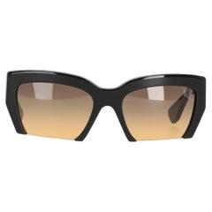 2000s Miu Miu Black Sunglasses