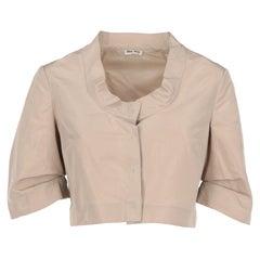 2000s Miu Miu Crop Shirt