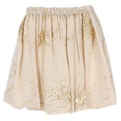 2000s Miu Miu Skirt With Applications