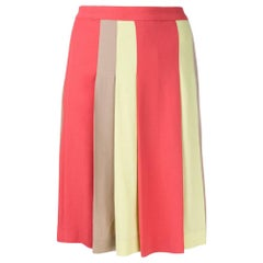 2000s Moschino Cheap and Chic Pleated Skirt