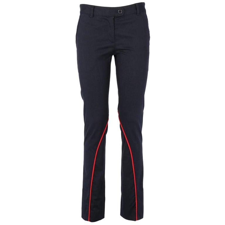 2000s Moschino Cotton Trousers For Sale