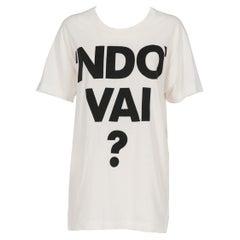 2000s Moschino Printed Maxi T-Shirt