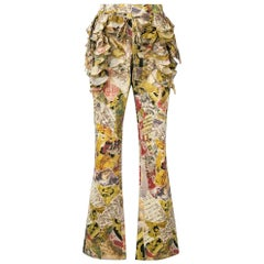 2000s Moschino Printed Trousers
