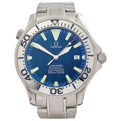 2000s Omega Seamaster Stainless Steel 2255.80.00 Wristwatch
