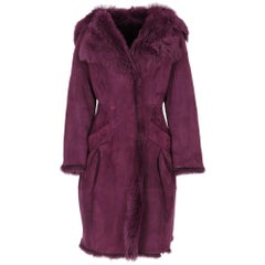 2000s Philosophy By Alberta Ferretti Sheepskin Coat