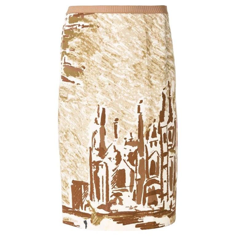 "2000s Prada ""Cathedral"" Skirt"