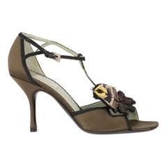2000s Prada Heel Sandals