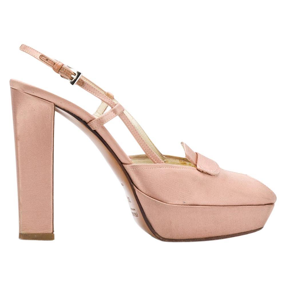 2000s Prada Heel Shoes
