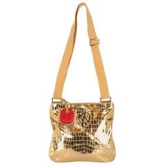 2000s Redwall Golden Shoulder Bag