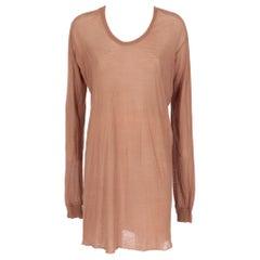 2000s Rick Owens Semi-Transparent T-shirt