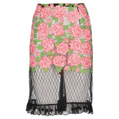 2000s Roccobarocco Semi-transparent Skirt