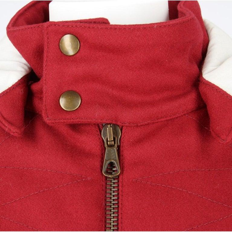 2000s Romeo Gigli Burgundy Vintage Hooded Coat For Sale 2