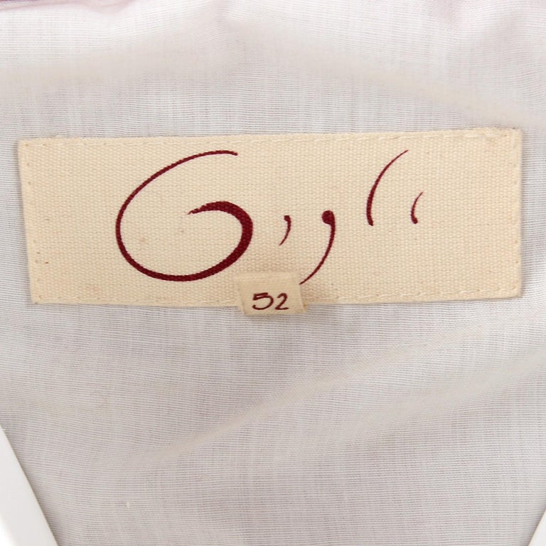 2000s Romeo Gigli Burgundy Vintage Hooded Coat For Sale 3