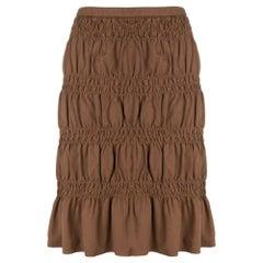 2000s Romeo Gigli Curled Skirt