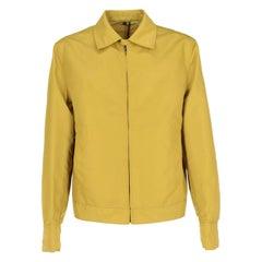 2000s Romeo Gigli Lime Green Rain Jacket