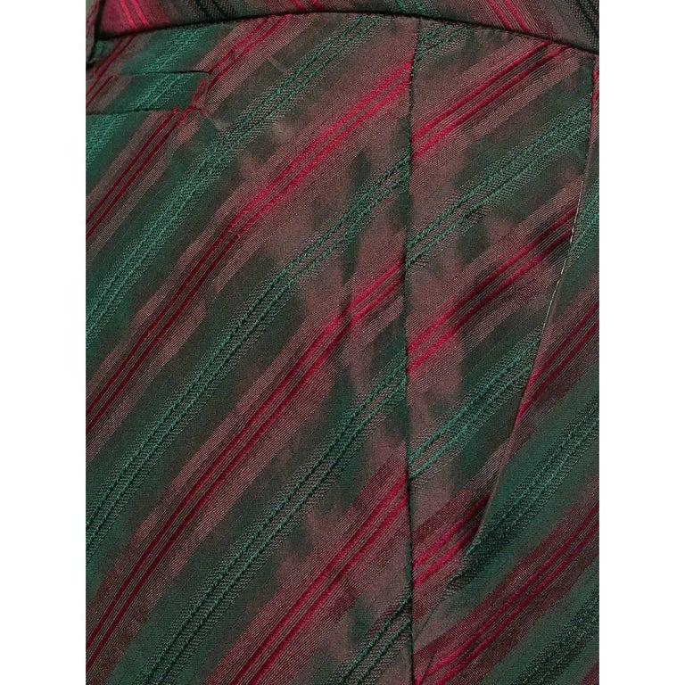 Women's 2000s Romeo Gigli Striped Trousers For Sale