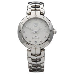 2000s TAG Heuer Link Stainless Steel WAT2312.BA095 Wristwatch