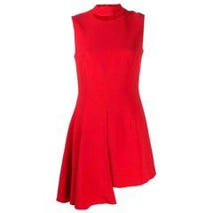 2000s Versace Asymmetrical Dress