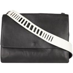 2000s Vince Black And White Crossbody Bag