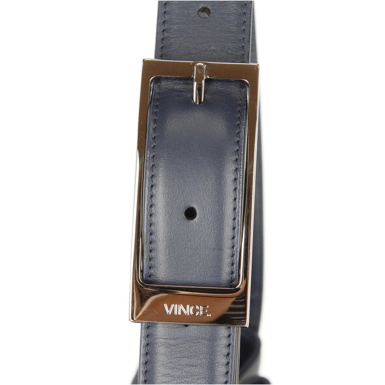 2000s Vince Blue Calf Hair Bag In Excellent Condition For Sale In Lugo (RA), IT