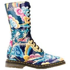 2000s Yohji Yamamoto X Dr. Martines Multicolor Boots
