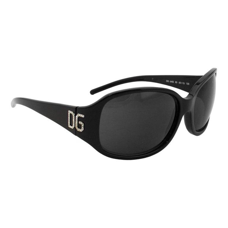 2000sDolce & Gabbana Black Sunglasses