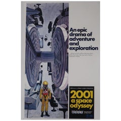 2001: A Space Odyssey '1968' Poster